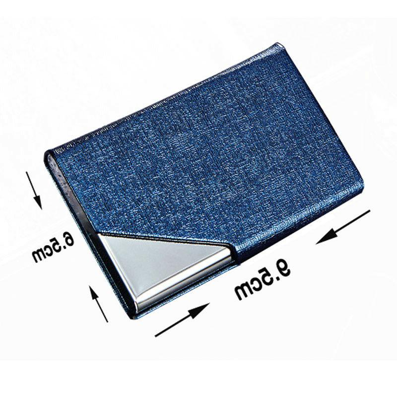 Business Credit Holders Women and Men Fashion Metal Cases