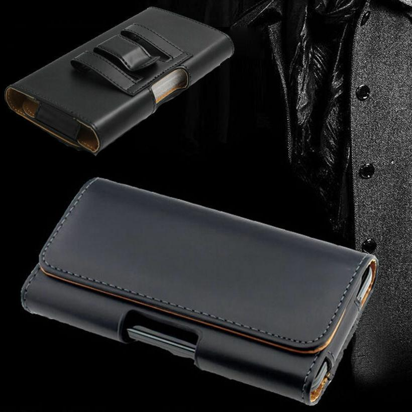 business outdoor belt clip holster pu leather