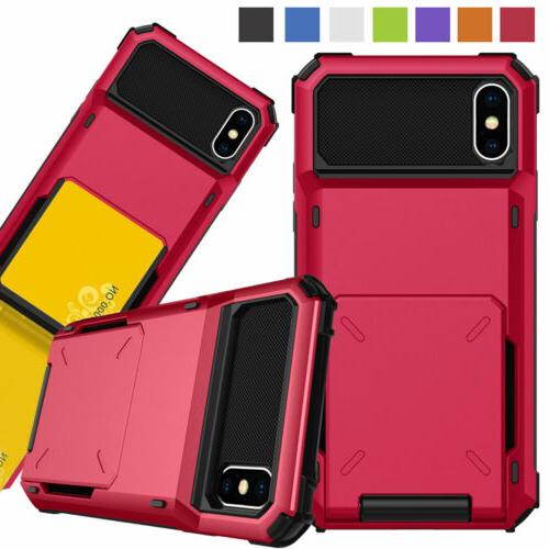Card Rugged for iPhone XR 8 7 6s Plus