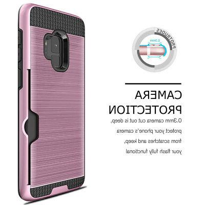 Card Wallet Case Cover Note 9 Plus S6 S5