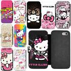 Cartoon Hello Kitty PU Leather Protective Wallet Phone Case