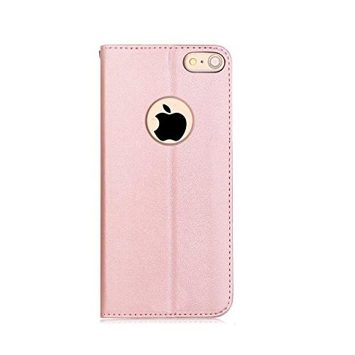 FYY 6S Flip Folio Case Credit Apple 6/6S Rose Gold