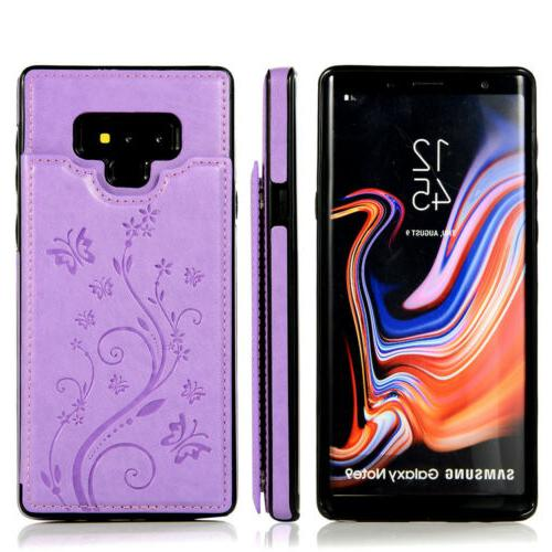 Case Galaxy Note Note 8 Magnetic Wallet Card