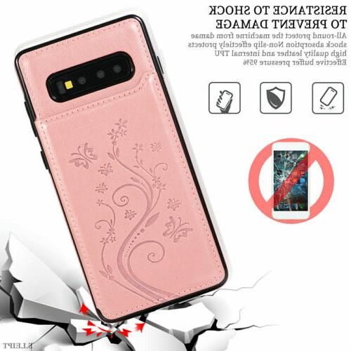 Case Cover For Galaxy S10e Plus S7 Magnetic Wallet Phone