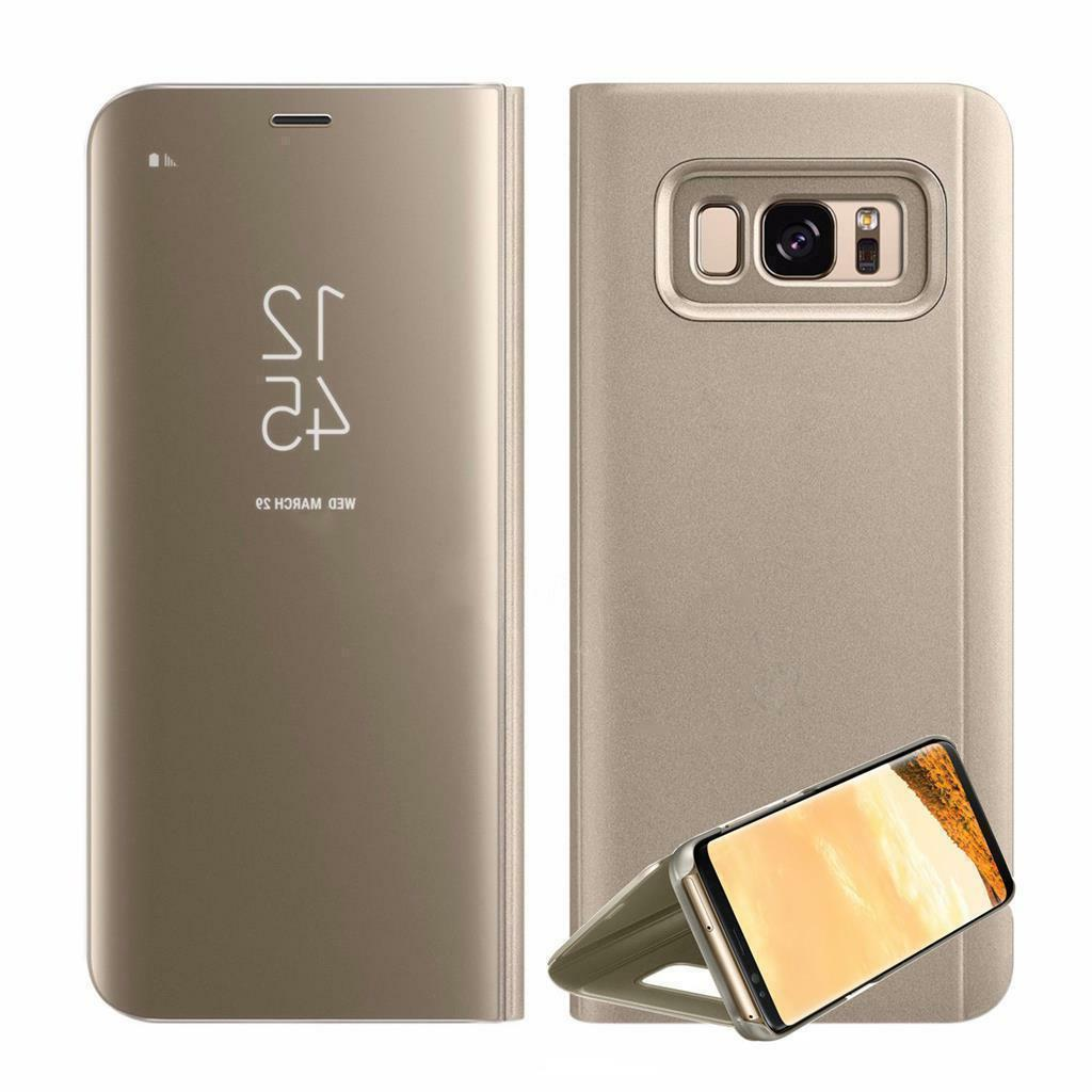Case For Samsung S7 S8 Flip Stand