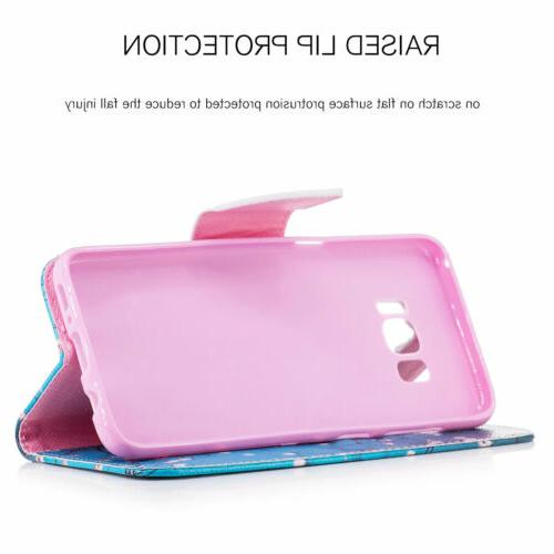 Case Samsung Note 8 5 4 Flip Phone Cover
