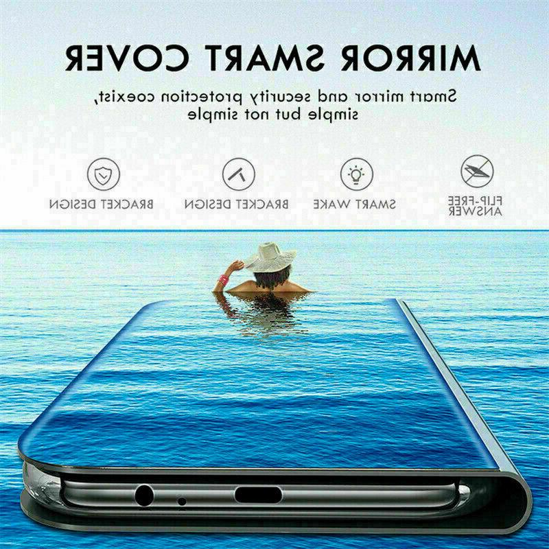 Case For Samsung Galaxy S10 S9 S8 Smart View Wallet Flip