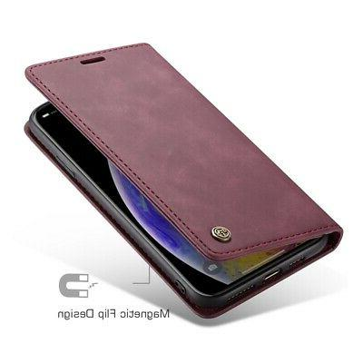 Caseme Business Cover Max/XR Leather Flip