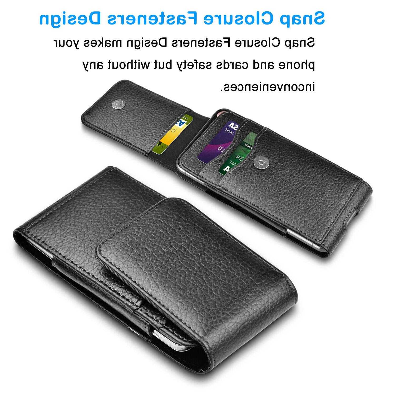 Cell Leather Case with Samsung
