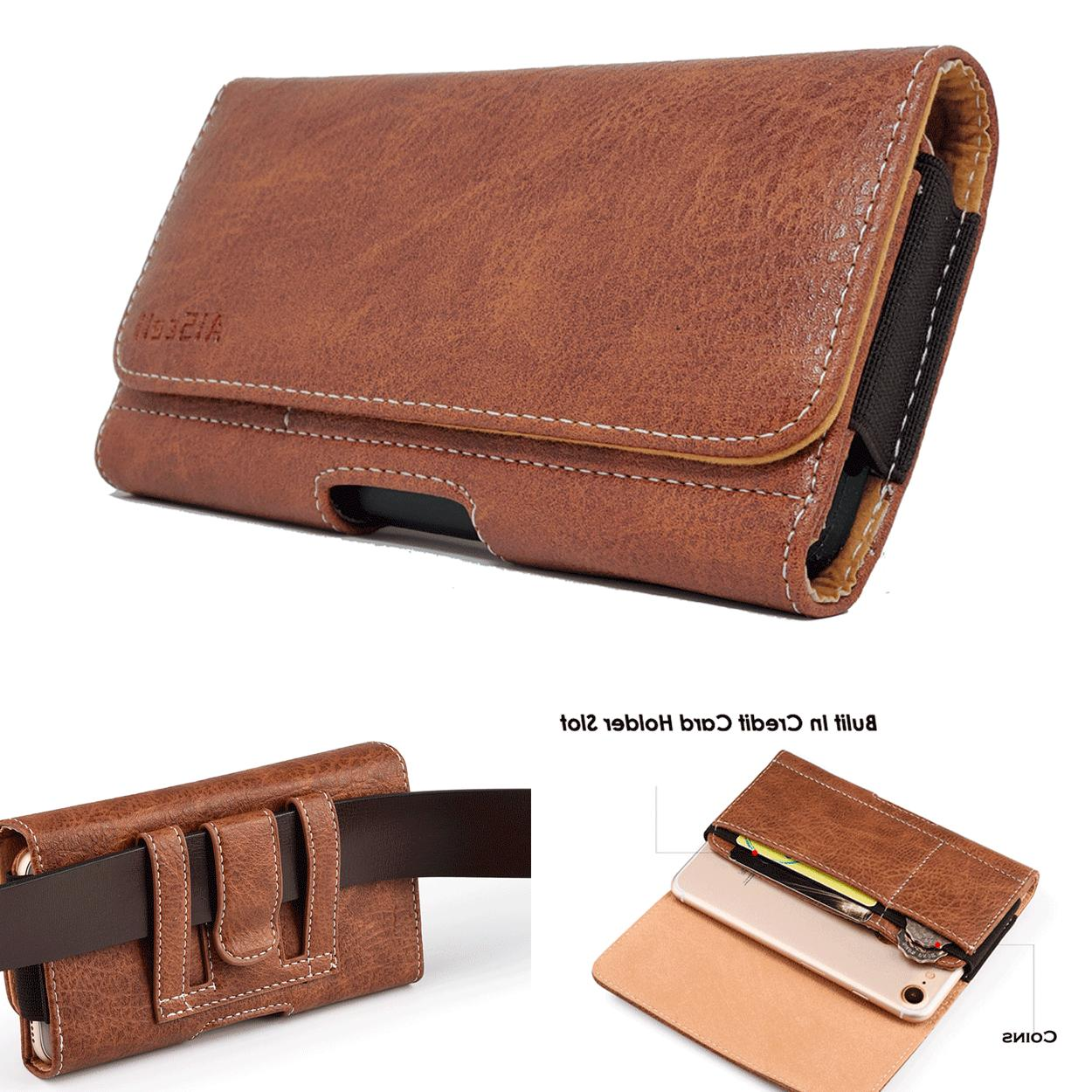 cell phone pouch carrying case leather sleeve