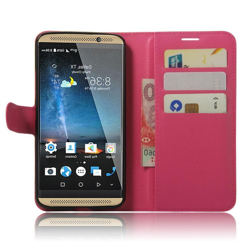 For Coque AXON <font><b>7</b></font> <font><b>Case</b></font> Flip Cover <font><b>Wallet</b></font> <font><b>Case</b></font> Card + For ZTE AXON7 Cover