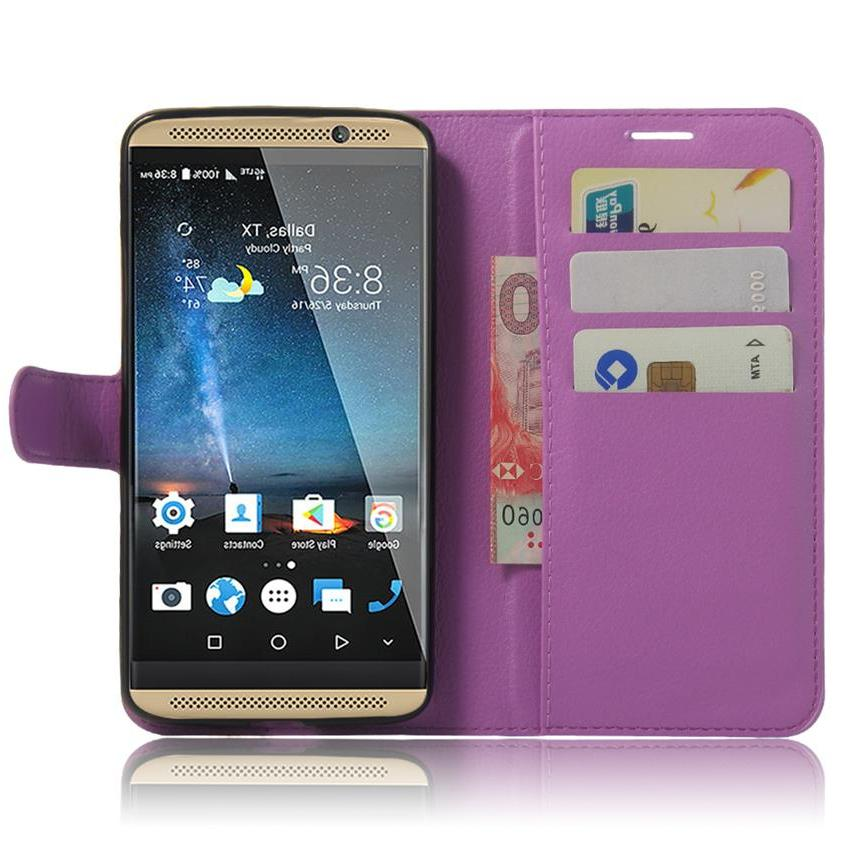 <font><b>7</b></font> Leather Cover ZTE AXON <font><b>Wallet</b></font> + Cover For Cover 5.5