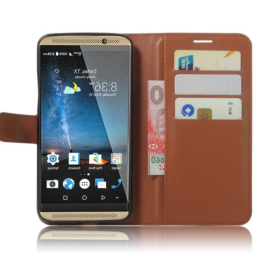 For Coque <font><b>7</b></font> Cover <font><b>7</b></font> <font><b>Wallet</b></font> + Stand For AXON7 Cover
