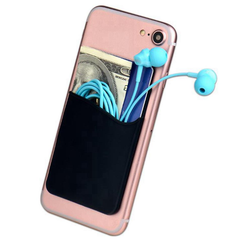 Creative Cell Holder <font><b>Phone</b></font> <font><b>Wallet</b></font> Holder Adhesive