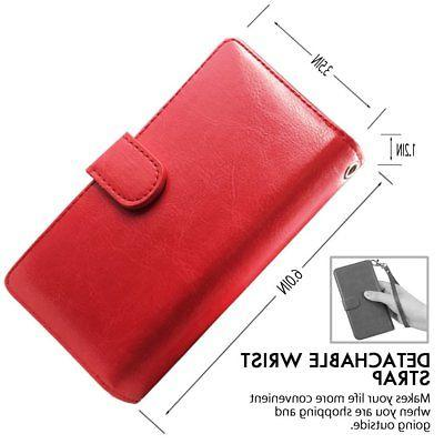 Detachable Leather Card Case Wrist For XS