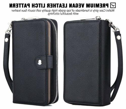 Detachable Leather Wallet Phone iPhone XR Pro Samsung