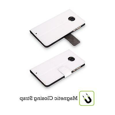 OFFICIAL TOM WOOD LEATHER CASE FOR MOTOROLA