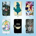 Disney Alice Wallet Case Cover iPhone SE 6 6S 7 8 X Plus 5 5