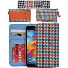 ecmt30 houndstooth protective wallet case clutch cover