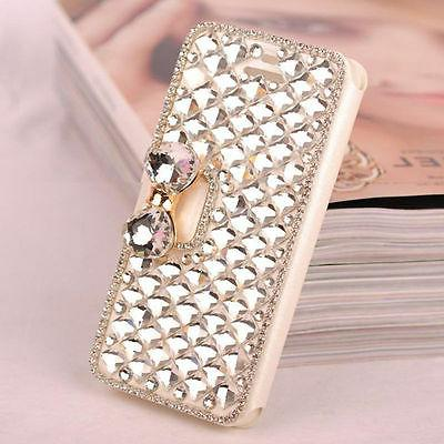 Fashion Crystal Wallet For iPhone Xs /