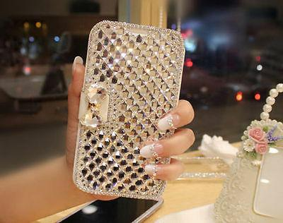 Fashion Diamond Bowknot Crystal Cover For / S10+