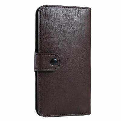 fashion pu leather slim wallet pouch sleeve