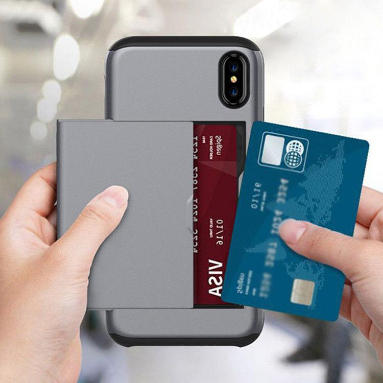 For XR XS Max Wallet Case Cover