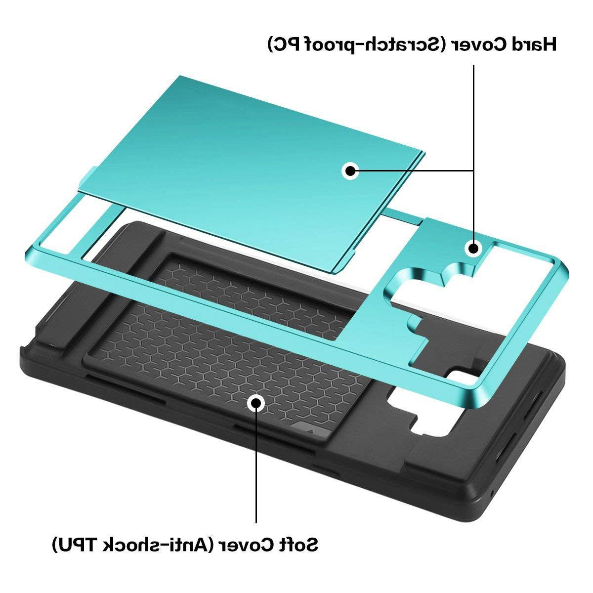 Fits Sliding Wallet Card Cover