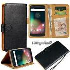Flip Black Cover Stand Wallet Leather Case For Various Motor