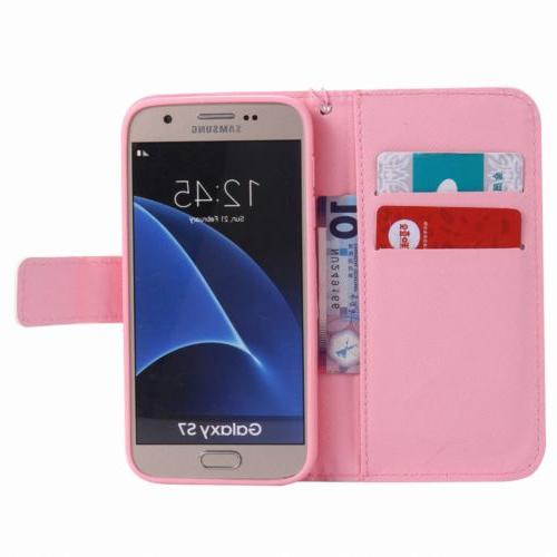 Flip Stand Phone Case For Samsung Galaxy