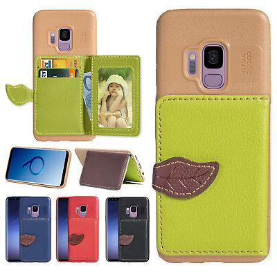 flip leather wallet stand card case cover