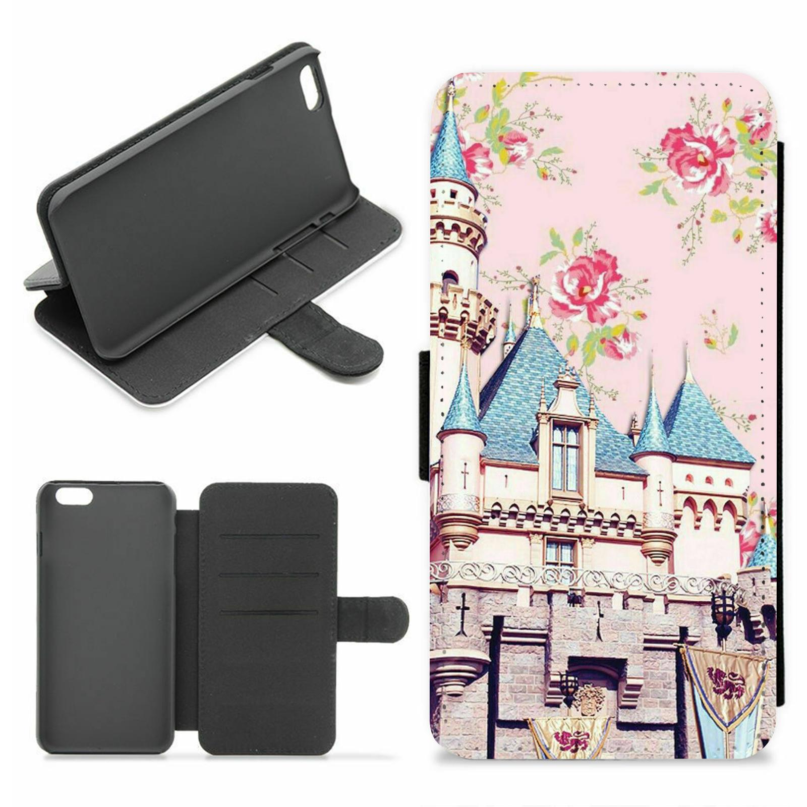 Floral Roses Disney Wallet Phone