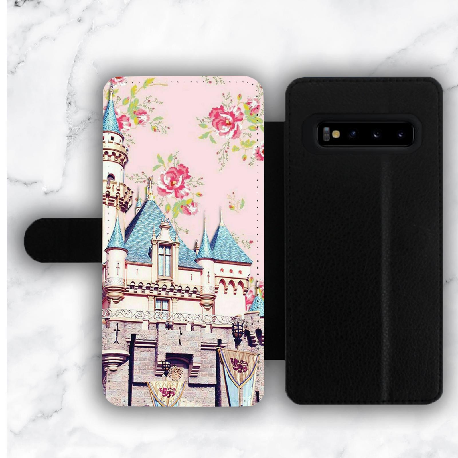 Floral Roses Disney Wallet Case