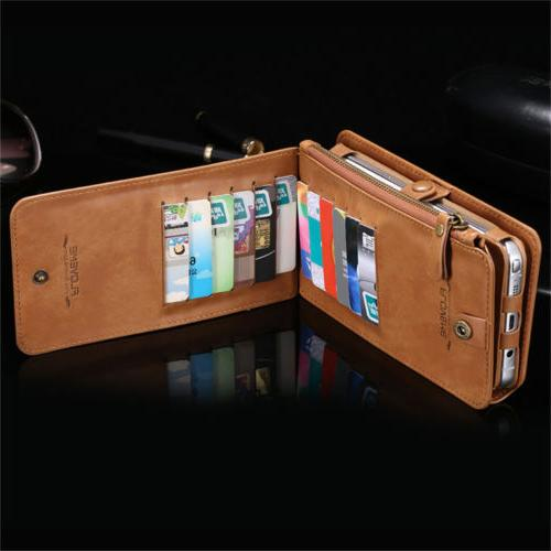 FLOVEME Luxury Wallet Phone Cover For 8