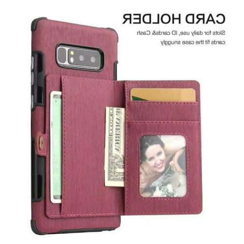For 10 Plus Slim Leather Card Slot