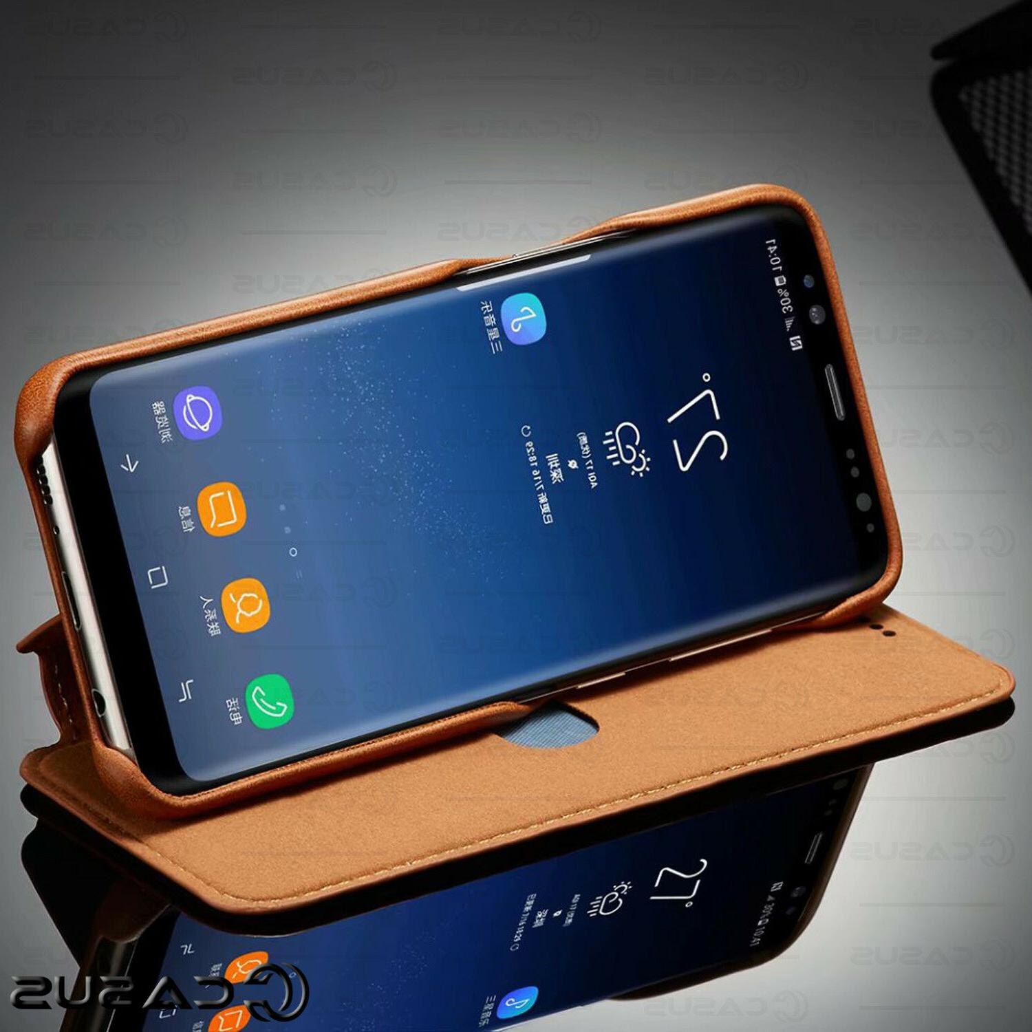 For S10/S9 Plus Stand Thin Case Cover