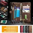Galaxy S7/S8+ Plus/Note 8 Leather Removable Wallet Magnetic
