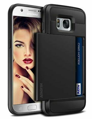 Galaxy Case Card ID Sliding Cover Cell by Vofolen