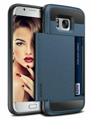 Galaxy S7 Wallet Case Sliding Cover by Vofolen