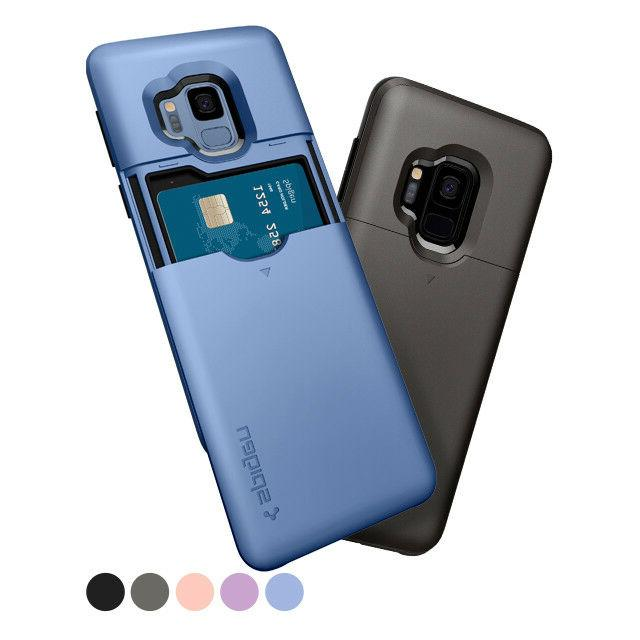 Galaxy S9 / S9 Plus | Spigen®  Card Slot Wallet Cover Case
