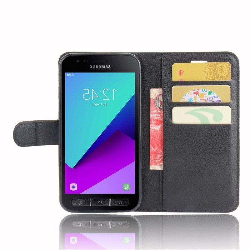 For Galaxy G390F <font><b>Case</b></font> Luxury Leather Stand Casefor SM-G398FN SM-G398FN/DS