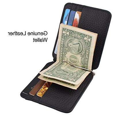 MaxGear Holder Case for and Cash Clip