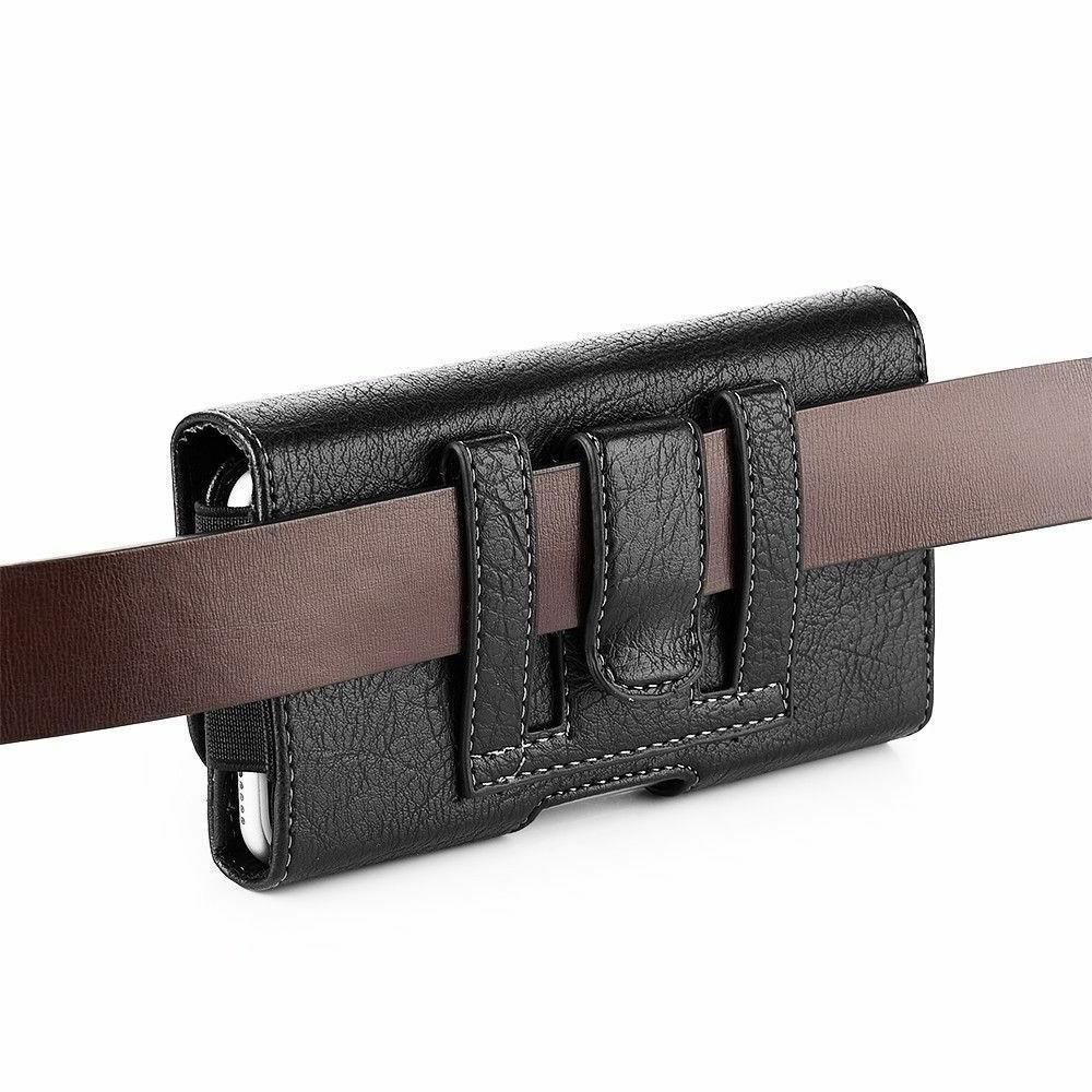 HORIZONTAL CELL PHONE COVER BELT CLIP CASE WALLET CARD