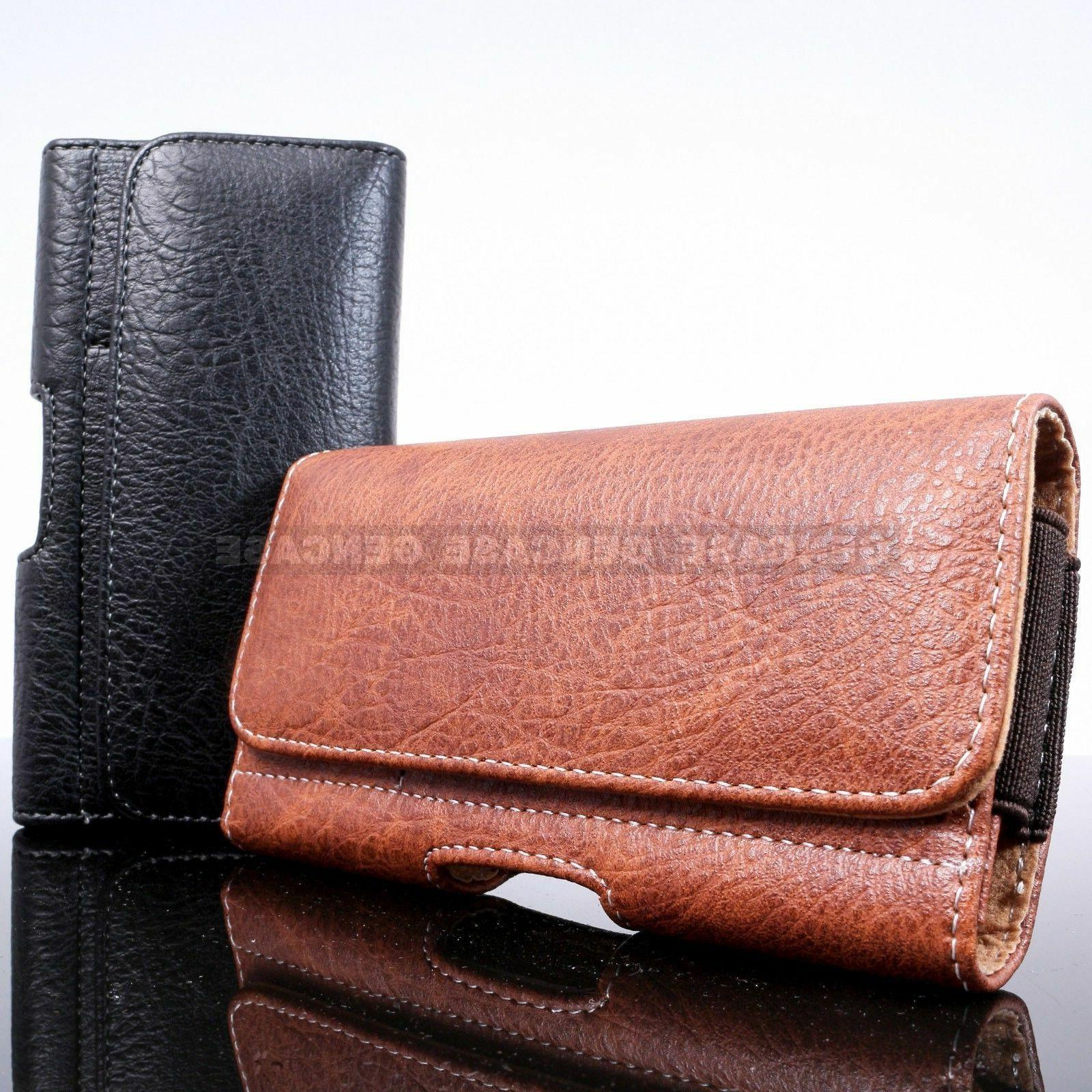 horizontal cell phone pouch cover belt clip