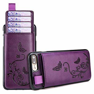 iPhone 8 Plus & 7 Plus Wallet Case WaterFox Leather Card Cas