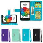 IZENGATE ID Wallet PU Leather Flip Case Cover Folio for LG S