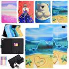 For iPad 9.7 2017 Mini Air 2 Painted Leather Wallet Card Fli