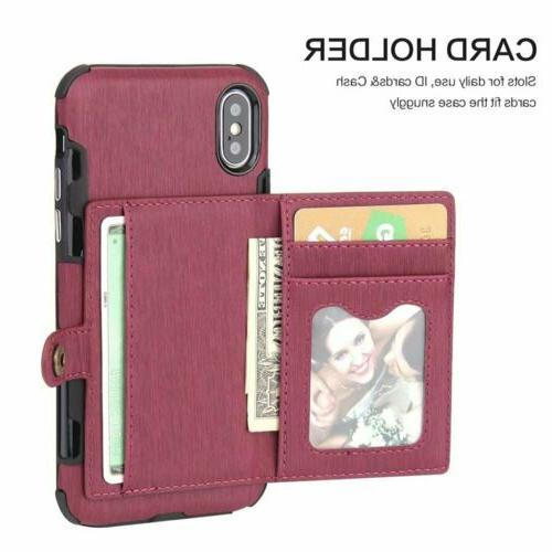 For iPhone 11 XS MAX/ 6 8 Wallet Holder