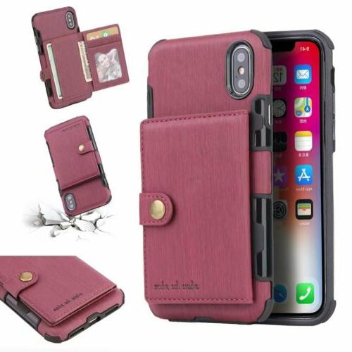 For XS X 6 Wallet Holder Cover
