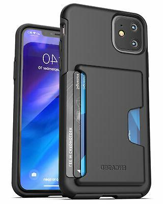 iphone 11 wallet case slim durable cover
